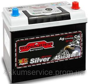 Акумулятор автомобільний Sznajder Silver Japan 45AH R+ 360А (54570)