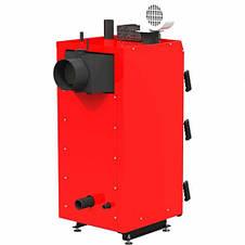 Твердотопливный котел длительного горения Kraft серия S 15 кВт с ручным управлением, фото 3