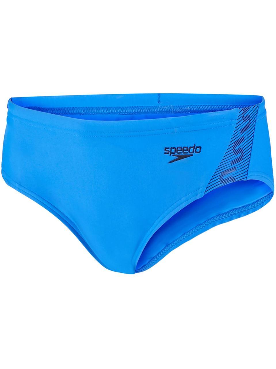 Детские плавки Speedo Endurance Monogram 6.5cm (голубые) - Оригинал