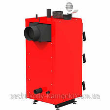 Твердотопливный котел длительного горения Kraft серия S 15 кВт с автоматикой, фото 3