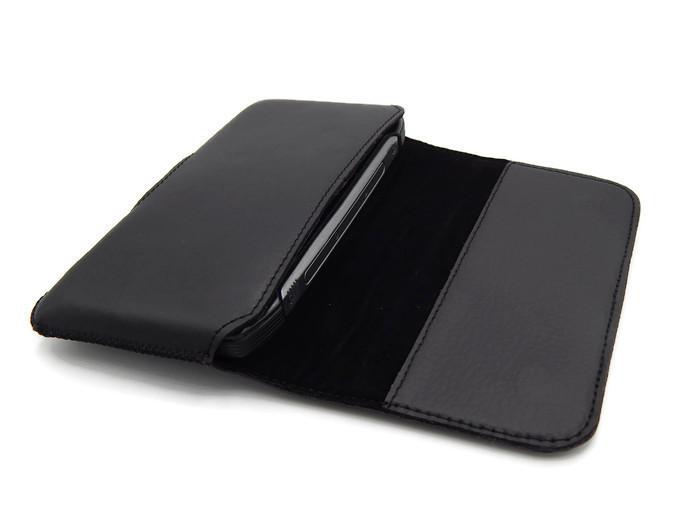 Чехол-карман на ремень универсальный для телефонов с размерами 126*60*11 черный