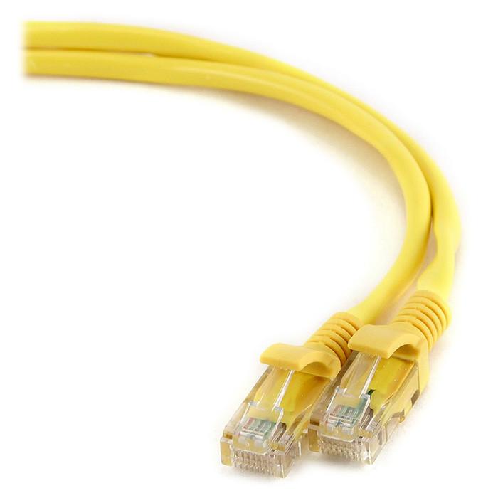 Патч корд Cablexpert PP12-1M жовтий
