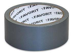 Лента армированная Favorit универсальная серая 50 мм х 50 м (10-551)