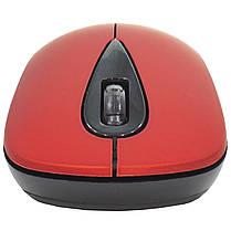 ➤Миша комп'ютерна iMICE E-2370 Red USB бездротова Дозвіл 1600 DPI Діапазон дії 10 м, фото 2