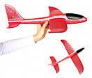 Сверх быстрый метательный самолет планер трюкач на дальнее расстояние (Красный), фото 5