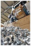 Люверсы, кольца круглые 40 мм (1000 шт.), оцинкованные, Польша, фото 2