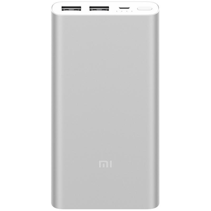 Xiaomi Power Bank 2S (2USB) 10000mAh Silver