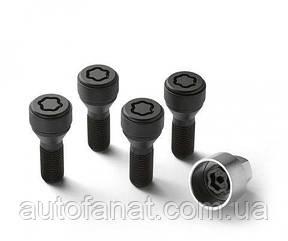 Оригинальный комплект оригинальных секреток BMW Wheel Lock Set M12 x 1,5 мм. (36132453959)