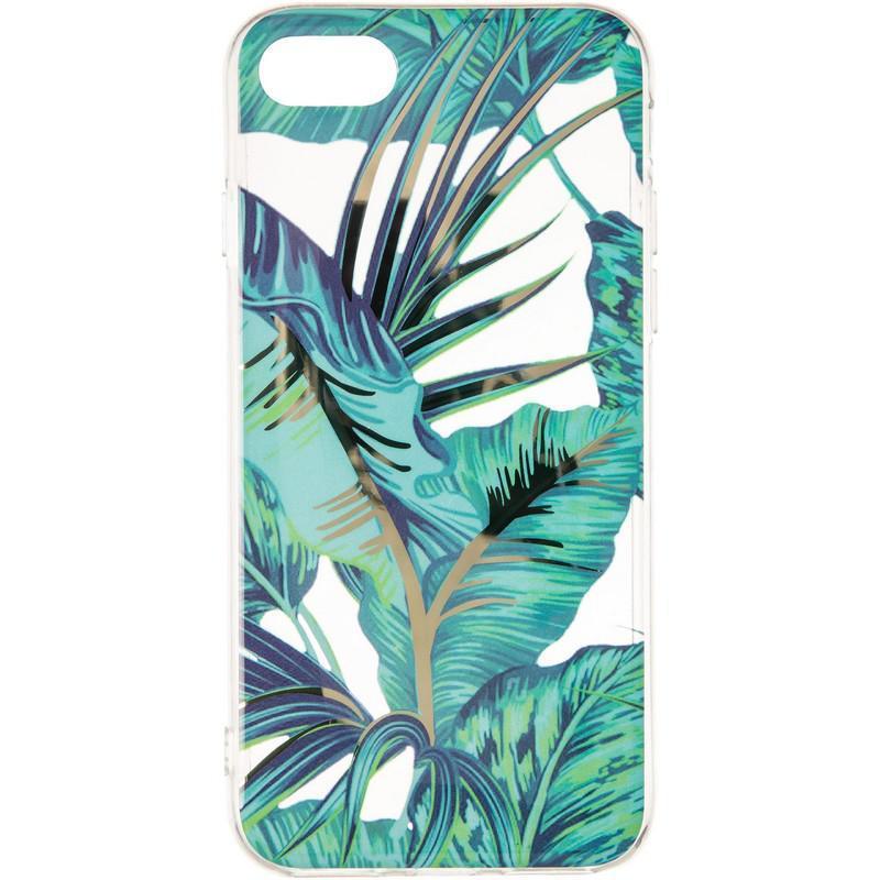 Силиконовый чехол Gelius Flowers Shine с рисунком для телефона iPhone 7/8 Jungle