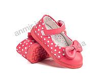Туфли детские для девочки весна-осень WL71K (22-26) Солнце-Kimbo-o купить оптом на 7км