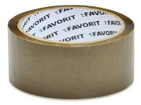 Клейкая лента Favorit коричневая 48 мм х 66 м (10-580)