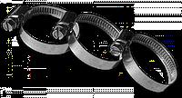 Хомут червячный, нержавеющий, BRADAS, 32-50мм, BSW2 32-50/12 (100шт/уп)