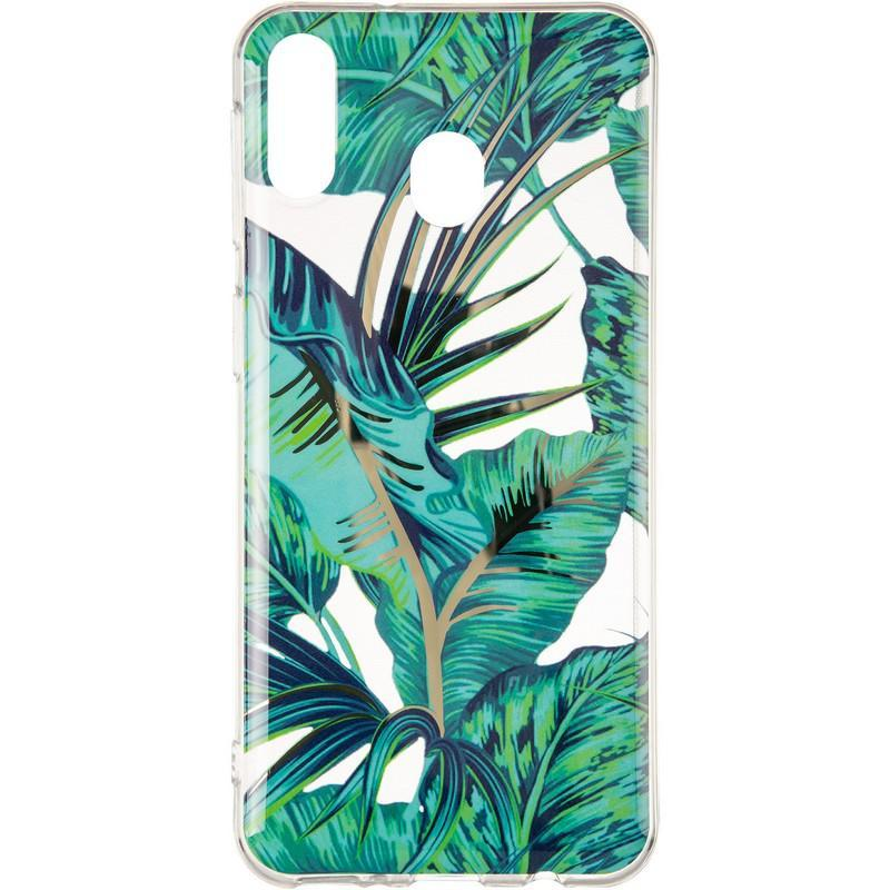 Силиконовый чехол Gelius Flowers Shine с рисунком для телефона Samsung M205 (M20) Jungle