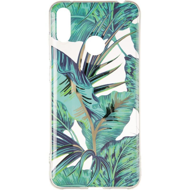 Силиконовый чехол Gelius Flowers Shine с рисунком для телефона Huawei Y7 (2019) Jungle