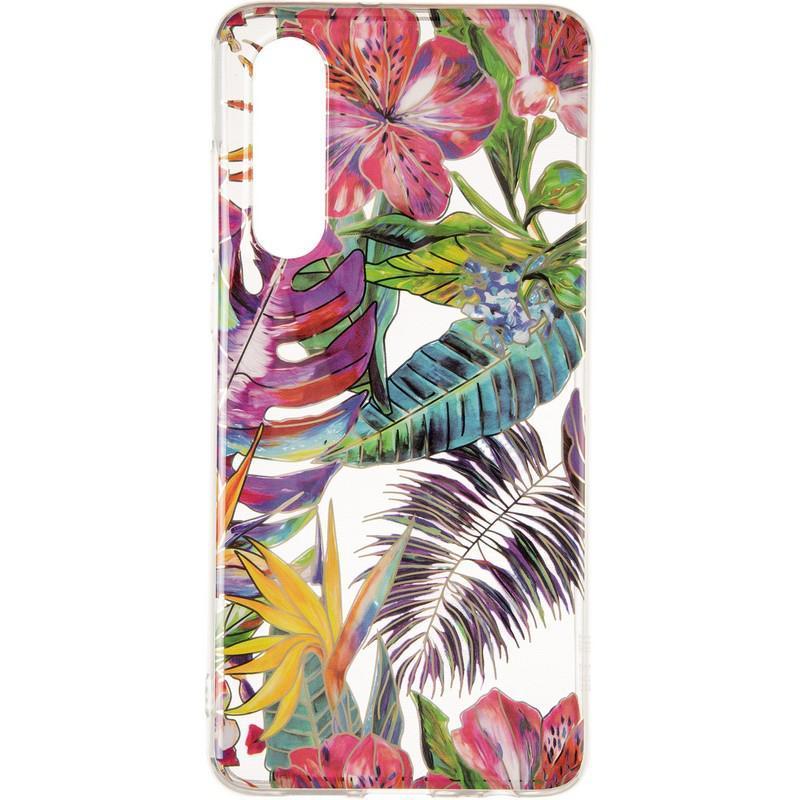 Силиконовый чехол Gelius Flowers Shine с рисунком для телефона Huawei P30 Tropic