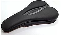 Мягкая накладка на седло велосипеда Rockbros  с вентиляцией черная