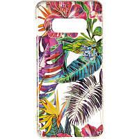 Силиконовый чехол Gelius Flowers Shine с рисунком для телефона Samsung G970 (S10e) Tropic