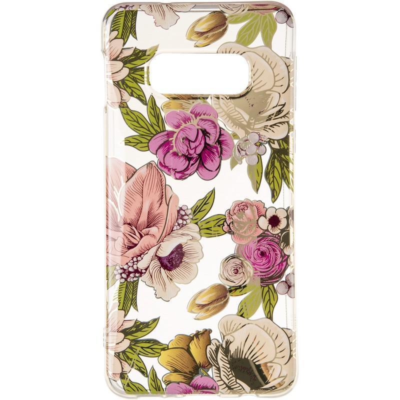 Силиконовый чехол Gelius Flowers Shine с рисунком для телефона Samsung G970 (S10e) Rose