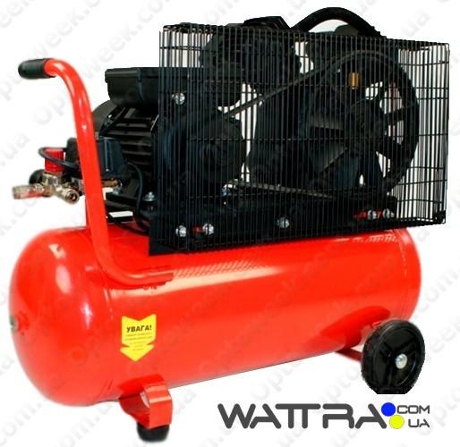 ⭐ Компресcор FORTE V-0.4-51 (10 атм. 2,2 кВт, вход: 420 л/мин., ресивер 50 л) поршневой