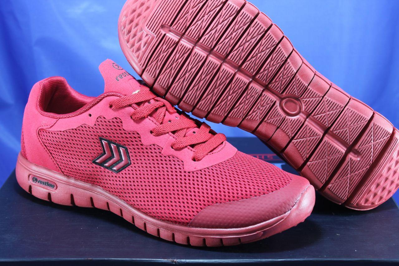 Лёгкие мужские красные кроссовки в стиле Nike Free Run