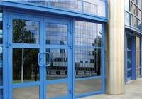 Входные алюминиевые двери W62