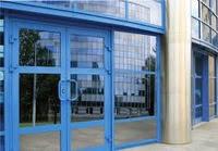Входные алюминиевые двери W62, фото 2