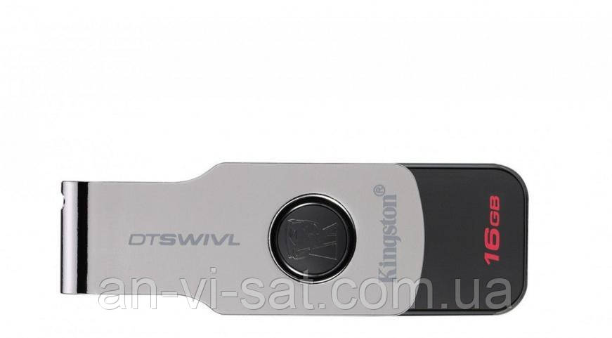 Флешка USB 3.1 Kingston DataTraveler Swivl 16GB