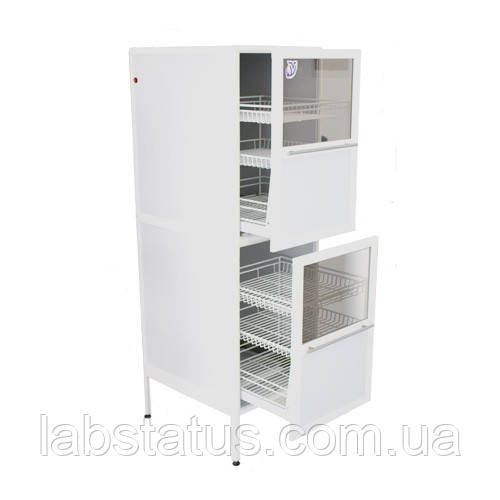 Шкаф медицинский с бактерицидными лампами ШМБ 30