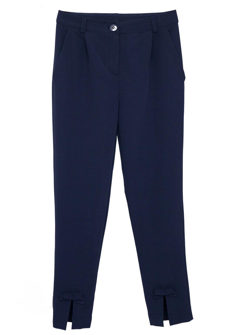Школьные укороченные брюки для девочки SLY  405B/S/19 (р. 146,158)