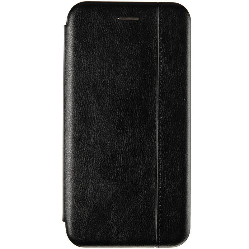 Чехол-книжка Leather Gelius для Nokia 5.1 Plus Black