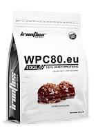 Сывороточный протеин IronFlex - WPC 80EU EDGE (900 грамм) double chocolate/двойной шоколад