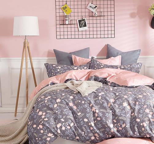 Двуспальный комплект постельного белья евро 200*220 хлопок  (12006) TM KRISPOL Украина, фото 2