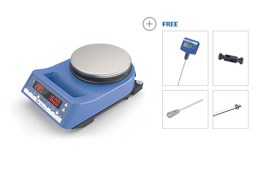 Магнитная мешалка RH digital ETS-D5 комплект IKA