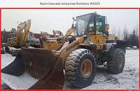 Аренда фронтального погрузчика KAMATSU 200