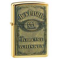 """Зажигалка ZIPPO """"Jack Daniels"""" + Виски """"Jack Daniel*s"""". Подарочный набор Зиппо."""