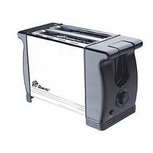 Тостер кухонный механический Domotec MS 3232 650W нержавеющая сталь количество тостов 2