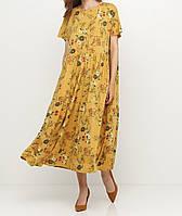 Платье женское  летнее с цветочным принтом Wendy Trendy
