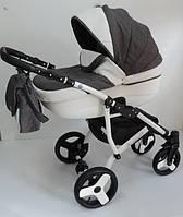 Коляска 2в1 универсальная Premium ,  колеса EVA, 4 амортизатора