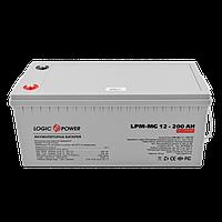 Аккумулятор мультигелевый LogicPower AGM LPM-MG 12 - 200AH, фото 1