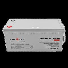 Акумулятор мультигелевый LogicPower AGM LPM-MG 12 - 200AH
