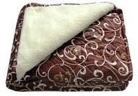 """Одеяло меховое люкс """"Руно""""  Ткань: сатин 100% хлопок. Разные размеры! Цены и х-ки в описании!"""