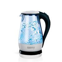 Чайник электрический стеклянный Camry CR 1251, фото 1