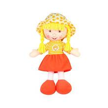 М'яконабивна лялька Апельсинка, 36 см «Devilon» (31814-4)