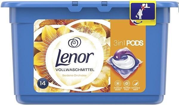 Капсули для прання Lenor Seidene Orchidee 14 шт