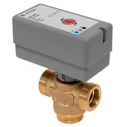 Клапан переключающий трехходовой Afriso AZV 642 G*3/4'' с приводом+ Адаптер