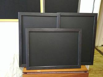 Меловая доска для кафе в рамке горизонтальная 840х600 мм Меню для кафе, заведения. Рекламное меню, доска
