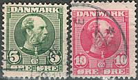 Дания 1905-1906 П/С