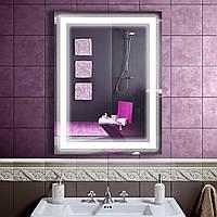 LED зеркало со светодиодной подсветкой DV 752-2 600х800 мм. зеркало дзеркало ЛЕД лэд лед