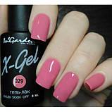 Гель лак INGARDEN X-GEL (курний рожевий) № 029, 8 мл, фото 2