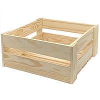 Ящик реечный из дерева серии Аiry (10х22х22 см) WoodMood